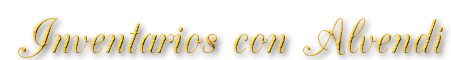 Inventarios con Alvendi logo