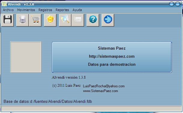 Alvendi: Programa de inventario gratis