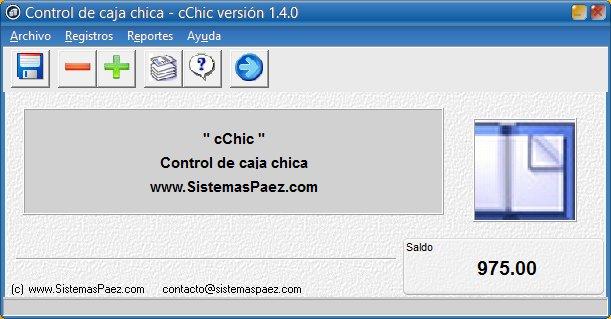 cChic: Control de caja chica