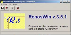Programa auxiliar para ControlWin