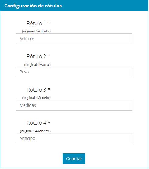 MoyexWeb - Configuración de rótulos