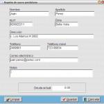 Registro de clientes/prestatarios